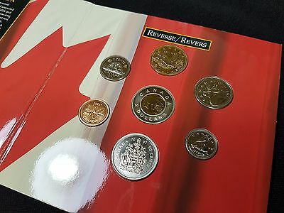 1997 Oh Canada Coin Set - With Flying Loon dollar - Royal Canadian Mint