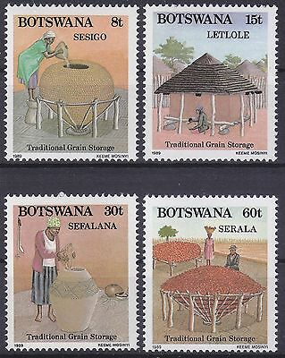 Botswana 1989 Grain Storage Set UM SG669-71 Cat £6.25