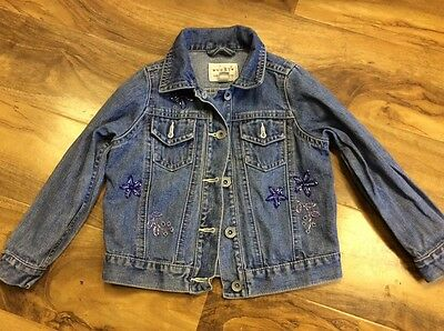 Next Girls Denim Jacket Age 3-4 years