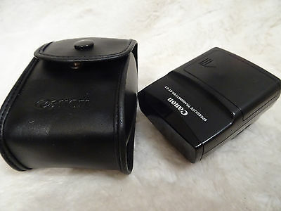 Canon Flash Speedlite Wireless Remote Transmitter ST-E2 incl soft case
