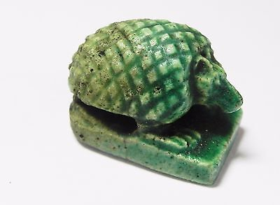 Zurqieh -Af990- Ancient Egypt - Faience Amulet Of A Hedgehog , 664 - 332 B.c