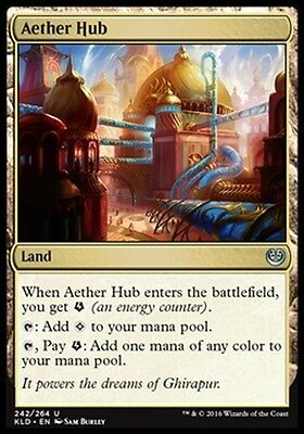 CENTER OF THE'ETHER - AETHER HUB Magic KLD Kaladesh