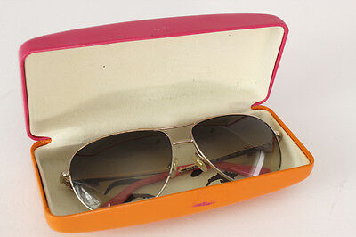 Authentic Kate Spade Women's Gold Bow Aviator Sunglasses