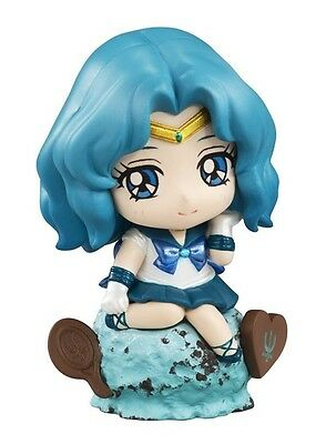 Sailor Moon 2'' Sailor Neptune Ice Cream Party Petit Chara Land Trading Figure