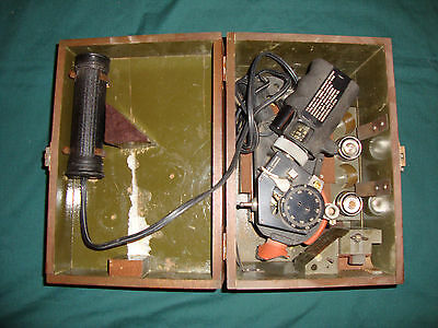 u.s. army air forces aircraft sextant type no.a-8a bausch and lomb