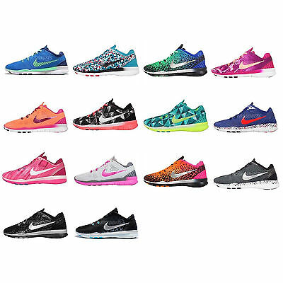 Wmns Nike Free 5.0 TR Fit 5 Print / Brthe Womens Training Trainers Size Pick 1