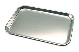 """Tray, Stainless Steel, 9-3/4"""" x 13-1/2"""""""