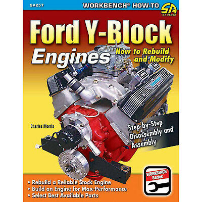 S-A BOOKS SA257 Ford Y-Block Engine Rebuild & Modify