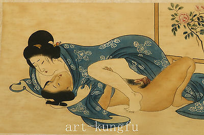 Japan paper Collection printing Painting Hug Belle picture art Decoration