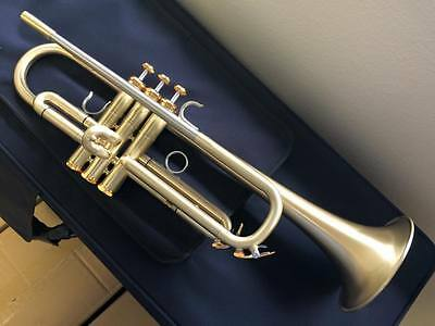 Andalucia AdVance Phase II Large Bore Trumpet in Brushed Lacquer or Silver Plate