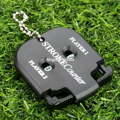 Protable Golf Count Shot Putt Stroke Counter Scoring Keeper Golfing Accessories