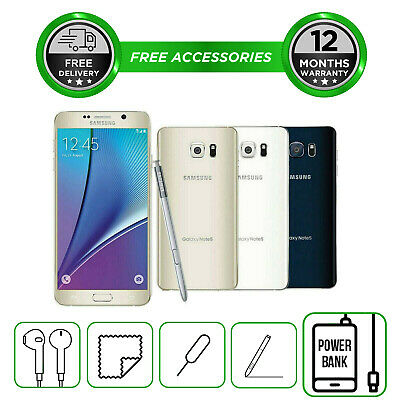 6990ebef2d53a8 Samsung Galaxy Note 5 N920 32GB 64GB Smartphone Unlocked Sim Free All  Colours