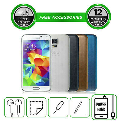 Samsung Galaxy S5 -16GB  All Colours - Smartphone - Unlocked To All Networks