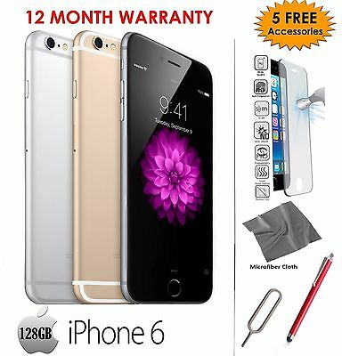 Apple iPhone 6 PLUS 128GB - Gold /Silver /Grey - Unlocked To All Networks phone