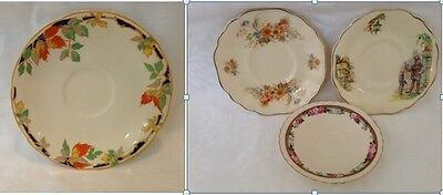 4 x ALFRED J&G MEAKIN VINTAGE REPLACEMENT SAUCERS