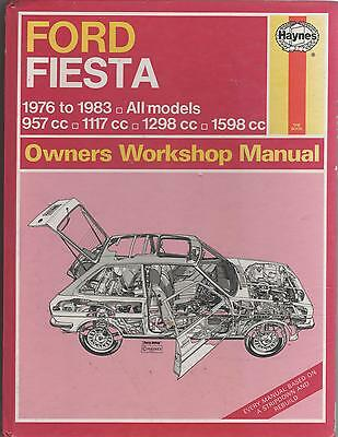 Ford Fiesta -1976 To 1983 -Owners Workshop Manual