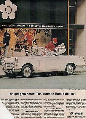 Triumph Herald - Advertisement Page - Look !!