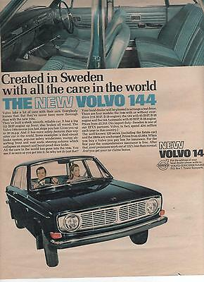 Volvo 144 - Advertisement Page - Look !!