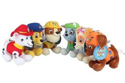 Patrulla Canina - Lote 6 peluches 20 cm