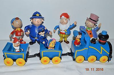 Collection of Noddy Figures with Train (Some MCDonalds) BIG EARS PC Plod