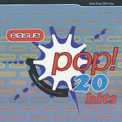 Erasure : Pop!: The First 20 Hits CD (2001) Incredible Value and Free Shipping!