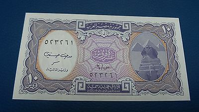 1940 Egypt 10 Piastres Banknote Uncirculated