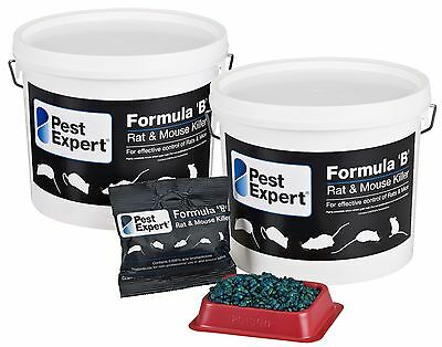 Mouse Poison Rat Killer Strong Professional Bait Pest Expert Formula B (3kg)