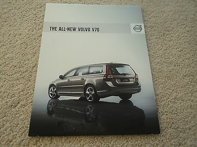 Volvo V70 (Incl. T6)  Brochure  - 2007 - Mint