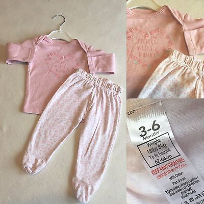 Baby Girls Clothes 3-6 Months - Cute Pyjamas -