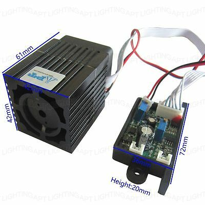 Steady 200mw 532nm Green Laser Module Ttl Continuous Work