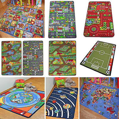 Children's Play Mats Roads Farm Letters Kids Carpets Educational Fun Rugs Mat
