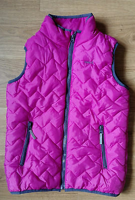 Name It Girls Quilted Gilet  / Bodywarmer - Pink - Age 9 yrs 134cm