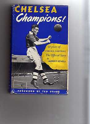 Chelsea Champions ! - Signed - Ted Drake - Hardback Book