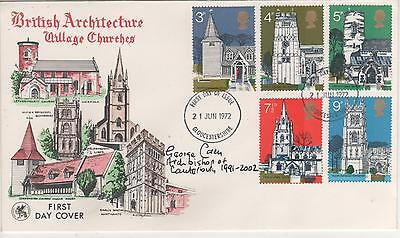 George Carey (Former Archbishop Canterbury) - Signed - Envelope