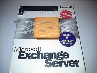 Microsoft Exchange Server 2000 (License Only) (5 Client/s) - Full Version for Wi