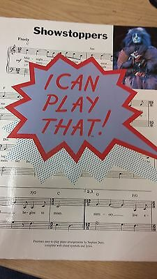 Showstoppers: I Can Play That: Music Score (H6)