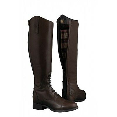 Ariat Bromont Tall H2O Insulated Long Boot Black & Chocolate