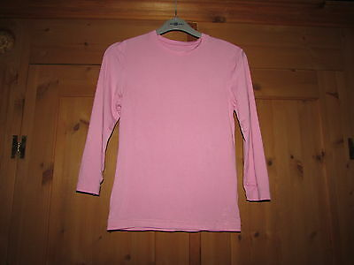 Girls Pink Long Sleeve Thermo Layer Top From PRIMARK - Size 152cm