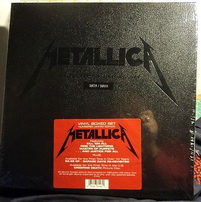 Metallica - Vinyl Box Set - 3979 / 5000