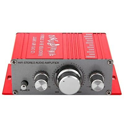 New Motorcycle Auto Car Stereo Power Amplifier Sound Mode Audio Support DVD MP3