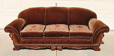 1920's Vintage Couch and Chair Set