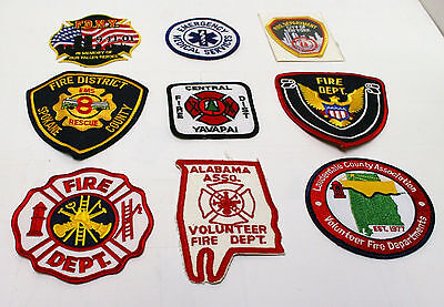 Fire Service ~ EMS Patches