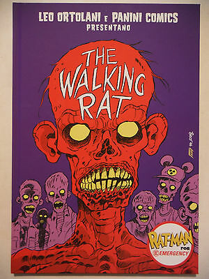 THE WALKING RAT EMERGENCY variant edition RAT-MAN PANINI COMICS ratman ORTOLANI