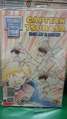 Capitan Tsubasa n.35 Holly e Benji - Techno 104 - Star Comics SC37
