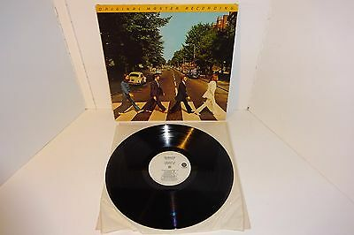The Beatles Abbey Road 1980 Mobile Fidelity Sound Lab Audiophile Pressing Usa Lp