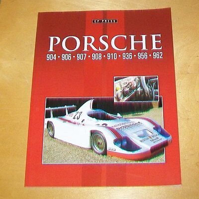 Porsche 904 906 907 908 910 936 956 962 Book About The Cars Colin  Pitt 2014