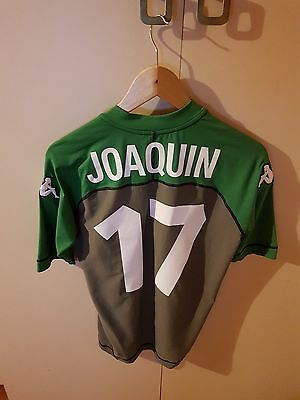 Real Betis Shirt Jersey Size S 'Joaquin 17'