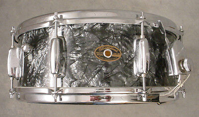 60's SLINGERLAND 5.5x14 BLACK DIAMOND PEARL BUDDY RICH SNARE DRUM