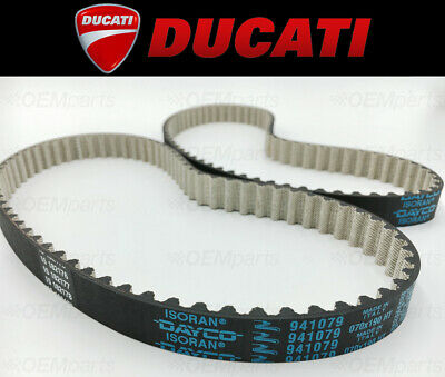 Set of (2) Camshaft Timing Belts Ducati 659/ 696 / 795 / 796 (See Fitment Chart)