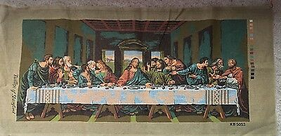 Tapestry/Needlepoint Canvas.The Last Supper. Large.DaVinci.